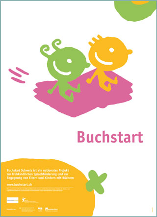 Poster Nati per leggere in tedesco